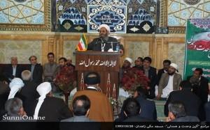مولانا عبدالحمید: وحدت و همدلی ملت ایران در سال ۵۷ بی نظیر بود