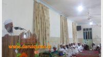 مراسم اختتامیه دوره ۲۰ روز تجوید مدرسه دینی دارالقرآن سراوان + تصاویر