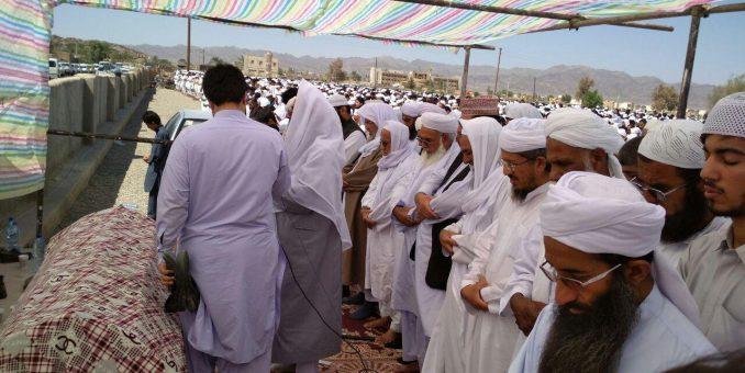 مراسم تشییع جنازه حضرت مولانا محمد انور ملازهی (رحمه الله علیه) برگزار شد