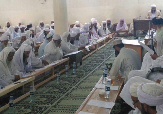 اولین نشست مدیران مدارس علوم دینی استان سیستان و بلوچستان در سال تحصیلی ۳۹-۱۴۳۸ +تصاویر
