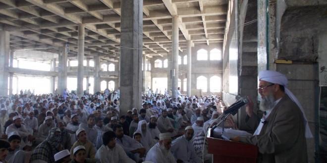 مولانا محمدعثمان: ندادن زکات و صدقات سبب قحط سالی ، معاصی و زلزله می شود
